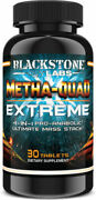 Blackstone Labs Metha Quad Extreme 4 In 1 Pro-anabolic Ultimate Mass Stack 30ct