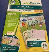 Leap Frog Leap Reader Read And Write Series Activity Set Ages 4-8.
