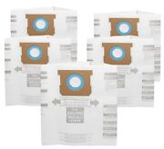 For Shop-vac 90661 Bag Type E For 5-8 Gallon Vacuum - 9066100 Bags 5 Pack