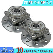 2pcs Front Wheel Hub And Bearing Left Lh And Right Rh For Dodge Ram 3500 1994-1999
