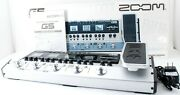 Zoom G5 Guitar Multi Effects Pedal And Amp Simulator W/ Ac Adapter [exc++] 708916