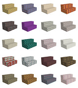 Ambesonne Ethnic Details Hr Foam Portable Mattress And Fabric Cover In 3 Sizes