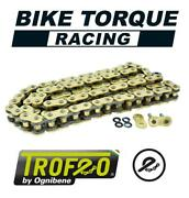 Trofeo Trb Super Hd 118 Link X-ring Gold Chain To Fit Ktm 950 Adventure 03-06