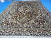 10and039 X 14and039 Vintage Power Loomed Couristan European Wool Rug Belgium Made Carpet