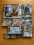 Lego Star Wars 20th Anniversary - Assorted Lot 9 Sets 3 Polybags Factory Sealed