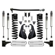For Ford F-250 Super Duty 17-19 Suspension Lift Kit Icon 4.5 X 5 Stage 1 Front