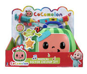 Cocomelon Musical Doctor Checkup Case Set 4 Play Pieces Stethoscope Syringe New