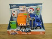 Blippi Talking Recycling Truck Garbage Recycle Vehicle New Release 👍👷♻️