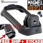 Strike Industries Magwell For P80 Poly80 Pf940c And Pf940v2 Frames Black For Emps
