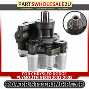 Power Steering Pump W/o Pulley For Dodge Sx 2.0 Chrysler Plymouth Neon 21-5247