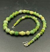 Old Antique Ancient Glass Beads Ancient Roman Egyptian Jewelry Antiquities
