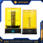 Anycubic Photon Mono X Lcd 3d Printer 192x120x245mm + Wash And Cure 2.0 Diy Kit Us