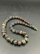 Old Ancient Antique Gabri Romanand039s Glass Beads Lot Top Rare