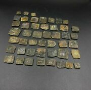 Old Ancient Antique Rare Bronze Indo Greco Greek Kushan Coins Lot Top Rare