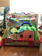 Cocomelon Musical Doctor Checkup Case 4 Piece Play-set- New Toddler Baby Gift