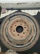 Chevrolet Gm 16 X 4andrdquo Artillery Wheel 6 Lug 8 Slot Chevy 1930-1940 Riveted 757
