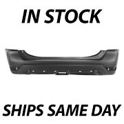 New Primered - Rear Bumper Cover Replacement For 2017-2020 Nissan Rogue 17-20