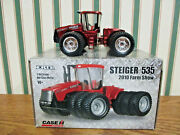 Case Ih Steiger 535 With Triples 2010 Farm Show Red Chrome By Ertl 1/64th Scale