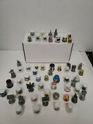 Vintage, Mixed Thimble Collection Lot Over 50