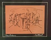 George B Luttrell Ii 1974 Preservation Hall New Orleans Jazz Double Signed Print