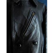 Luftwaffe 1930and039s 1940and039s Germany Vintage Ww2 Leather Officerand039s Great Coat