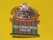 Haunted Mansion Holiday Slider Pin 2003 Snake Stretching Portrait