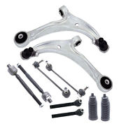 10pc Front Control Arm Outerandinner Tie Rod Sway Bar Link For 05-10 Honda Odyssy