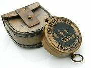 Beautifully Crafted The Beatles Brass Compass Submarine Antique Nautical Replica