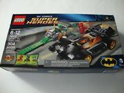 Lego Super Heroes 76012 Batman The Riddler Chase Flash - New And Sealed
