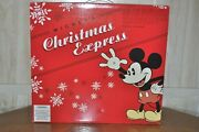 Lionel 6-300 Disney Mickeyand039s Christmas Express O Gauge Trai Set Limited Addition