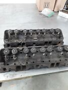 Sbc Pair Of 3890462 Small.block Chevy Cylinder Heads Camel Back Hp K146 K286
