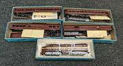 Athearn Toy Train Miniature Engine Caboose Freight Cars S750 Ho Scale Pennsylvan