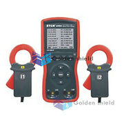 Etcr4200a Intelligent Double Clamp Digital Phase Volt-ampere Meter New✦kd
