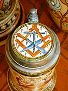 And039cabinet Makerand039 A Rare Occupational Stein By Mettlach / Villeroy And Boch