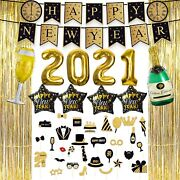 New Years Eve Party Supplies 2021decorations Set