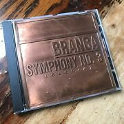 Glenn Branca - Symphony No. 3 Gloria Embossed Metal Plate / Sonic Youth And Swans