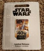 Star Wars The Empire Strikes Back Pin Andndash 40th Anniversary Sold Out Disney Store
