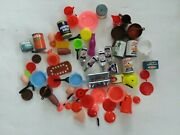 Vintage Pretend Play Food Grocery Cans Food Brands 1970's Lot