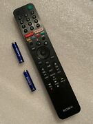 Oem Remote - Sony Rmf-tx500u For Select Sony Tvs Used