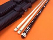 Longoni Carom Cue Armonia S30 Shafts And Top Notch Leather Case.
