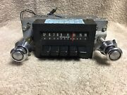 Used Ford Philco D4aa-18806 1974 Am Radio W/knobs And Factory Wiring