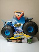 Monster Jam Truck Official Megalodon Storm All-terrain Remote Control In Hand