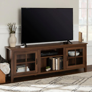 70-inch Tv Stand Entertainment Center Tvs Up To 78 Storage Cabinets Home Wood