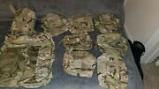 Modular Lightweight Medic Bag With Pouches And Bandoleer Multicam Ocp