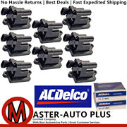 Acdelco Double Platinum Spark Plug And Ignition Coil For Gmc 8.1l 5.3l 4.8l 6.0l