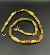 Old Jasper Beads From Ancient Dynasty Of Ancient Greek's And Roman's Ancient Bea