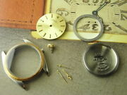 Free Shipping Genuine Vintage Rolex Oyster 6751 31mm Watch Case Full Set