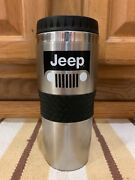 Jeep Cup Mug Coffee Truck Cars 4x4 Off Road Stainless Steel Metal Rims Grill