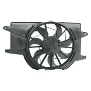 For Saturn Vue 02-03 Pacific Best Pf7821 Dual Radiator And Condenser Fan Assembly