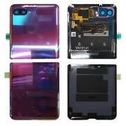 Samsung Sm-f700 Sm-f707 Galaxy Z Flip Back Door Battery Cover With Minor Screen
